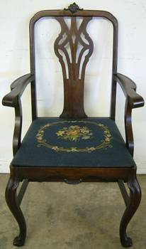 Photo of Antique Dining Room Arm Chair