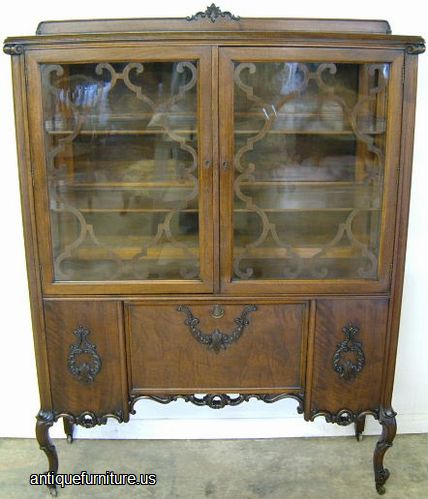 Photo of Antique Dining Room China Cabinet