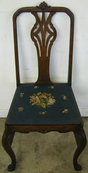 Photo of Antique Dining Room Side Chair