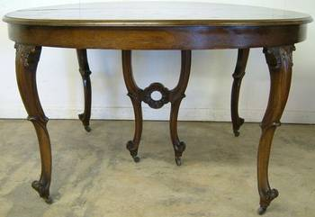 Photo of Antique Dining Room Table
