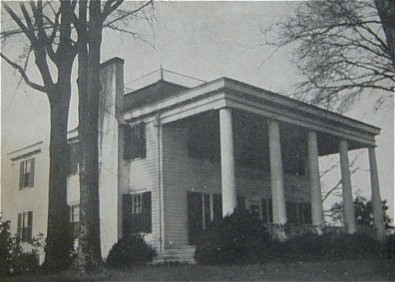 Photo of Forsyth Georgia Antebellum Home