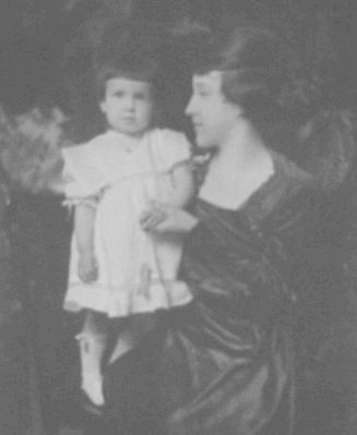 Mrs. Pearl Stephens Peacock and Daughter Martha Estelle