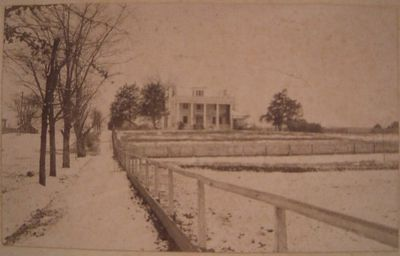Stephens' Home Showing Snow Covered Ground