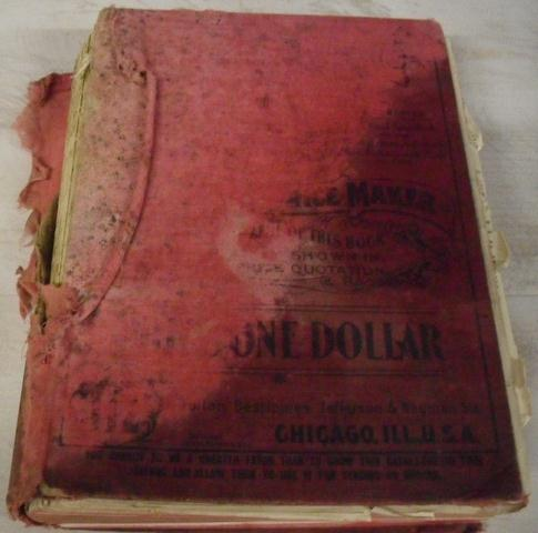 1902 Sears, Roebuck & Co. Catalogue No. 112 Photo