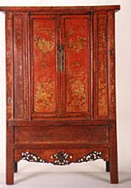 Photo of Antique Chinese Cabinet