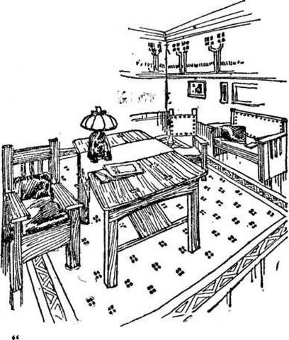Antique Furniture Illustration