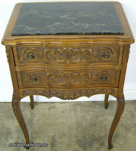 Antique French Style Marble Top Table At Antique Furniture Us