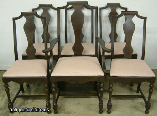 - Antique Set Berkey Gay Walnut Dining Chairs At Antique Furniture.US
