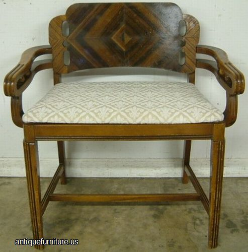 - Antique Art Deco Vanity Bench At Antique Furniture.US