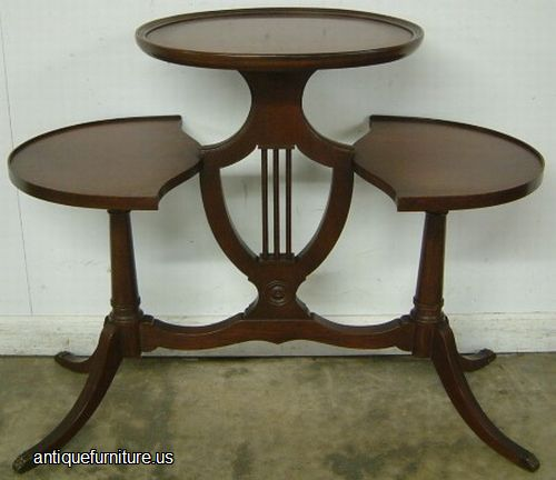 Antique Mersman Mahogany Lyre Base Table at Antique  : 166 mersman mahogany lyre base table from www.antiquefurniture.us size 500 x 432 jpeg 28kB