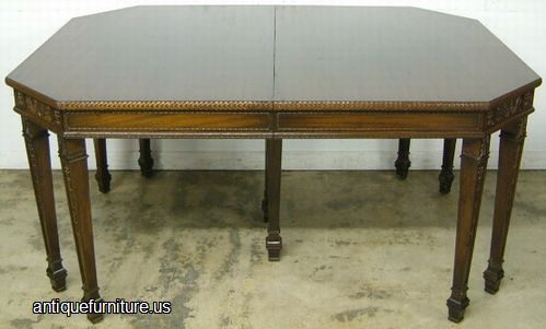 Antique Ornate Grand Rapids Chair Company Dining Table At Antique Furniture .US