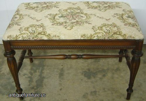 - Antique Walnut Vanity Bench At Antique Furniture.US