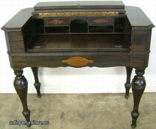 - Antique Mahogany Spinet Desk At Antique Furniture.US