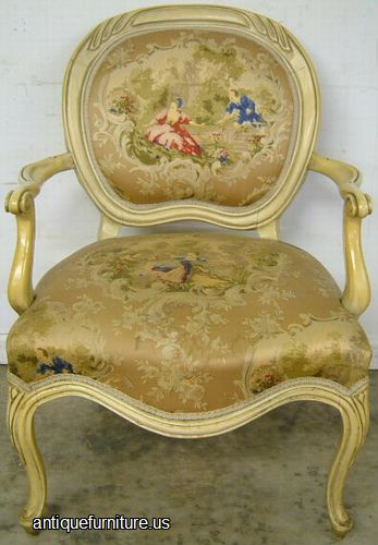 Antique French Palor Chair At Antique Furniture Us