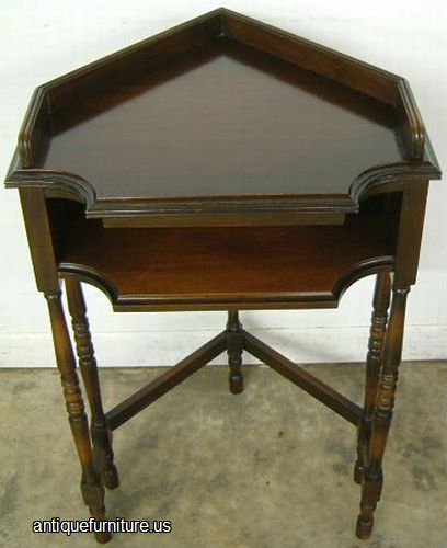 August 2014 Cpo Offers Table Jpg: Antique Walnut Corner Telephone Table At Antique Furniture.US