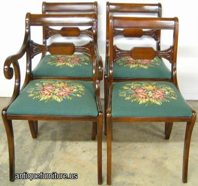 Charmant Antique Drexel Mahogany Dining Chairs At Antique Furniture.US