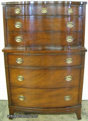 Antique Drexel Mahogany Chest At Antique Furniture.US