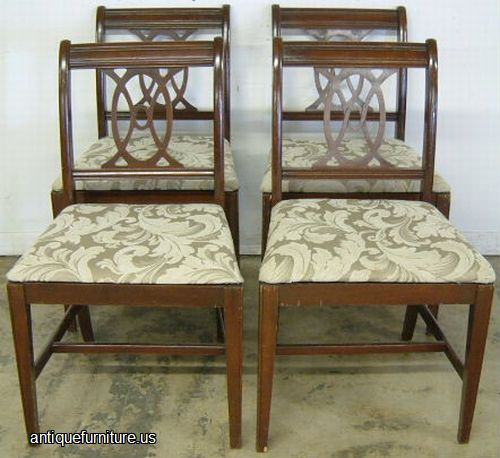 antique set mahogany dining chairs at antique furniture us