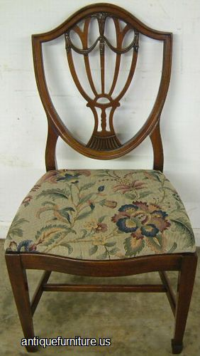 Antique Drexel Mahogany Dining Room Chair at Antique FurnitureUS