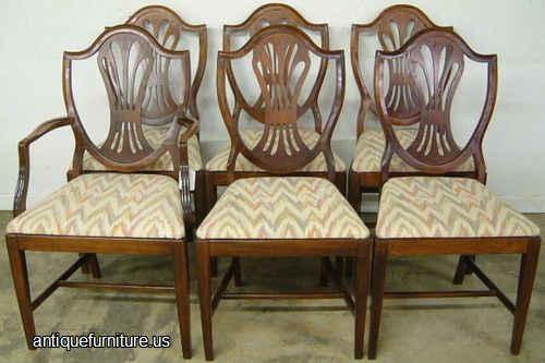 - Antique Mahogany Shieldback Dining Chairs At Antique Furniture.US