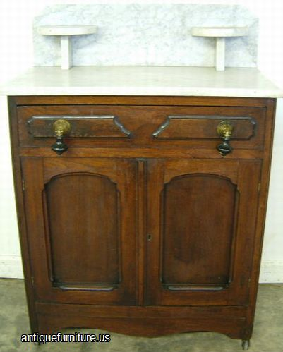 antique victorian walnut marble top washstand at antique furniture us